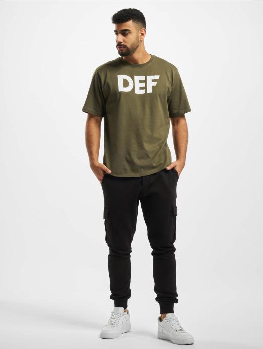 DEF T-shirts Her Secret oliven
