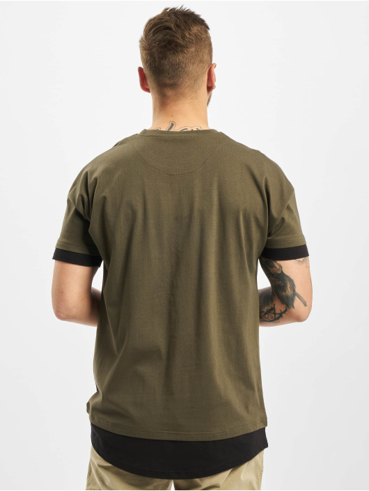 DEF T-shirts Tyle oliven