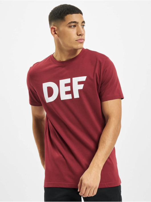 DEF T-shirts Her Secret rød