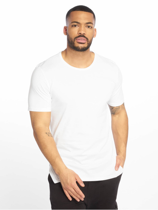 DEF T-Shirty Perch bialy