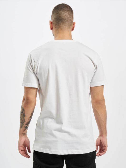 DEF T-Shirty Anti Corona bialy