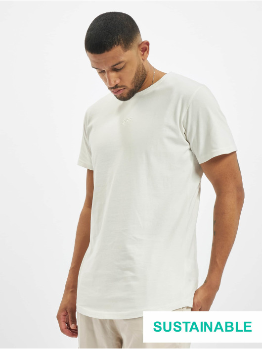 DEF T-Shirty Sustainable Organic Cotton bialy