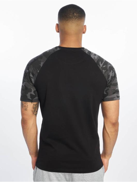 DEF T-Shirty Kami czarny