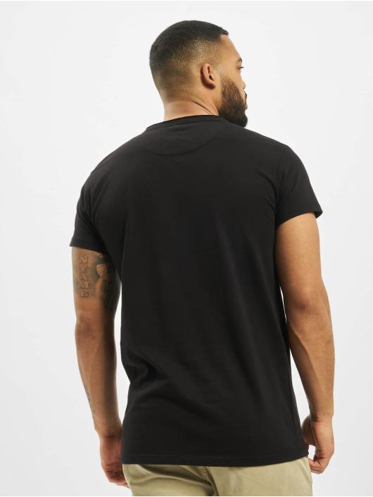 DEF T-Shirty Edwin czarny