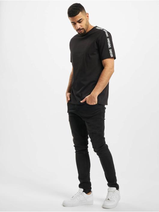 DEF T-Shirty Hekla czarny