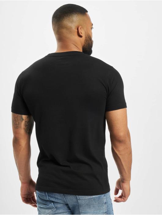 DEF T-Shirty Roli czarny