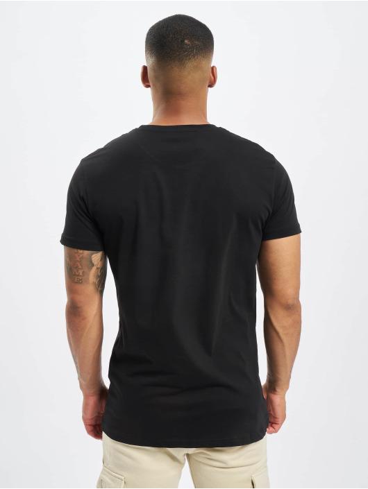 DEF T-Shirty Europa czarny