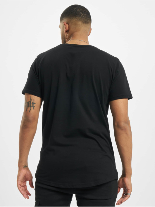 DEF T-Shirty Sustainable Organic Cotton czarny