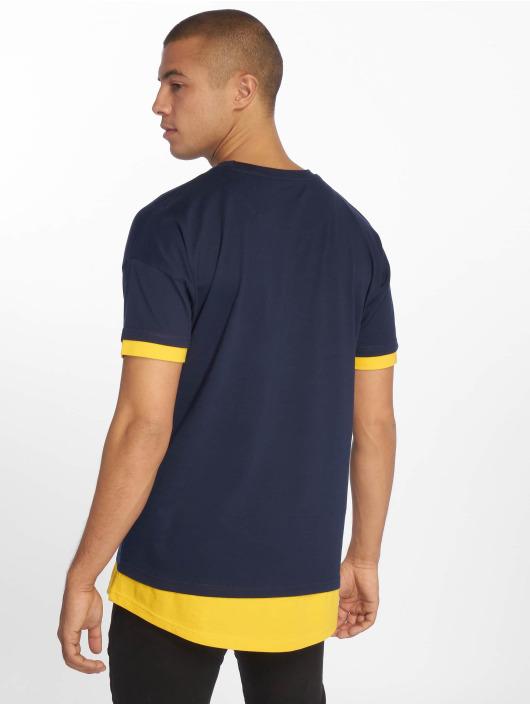 DEF T-Shirty Tyle niebieski
