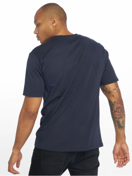 DEF T-Shirty Moses niebieski