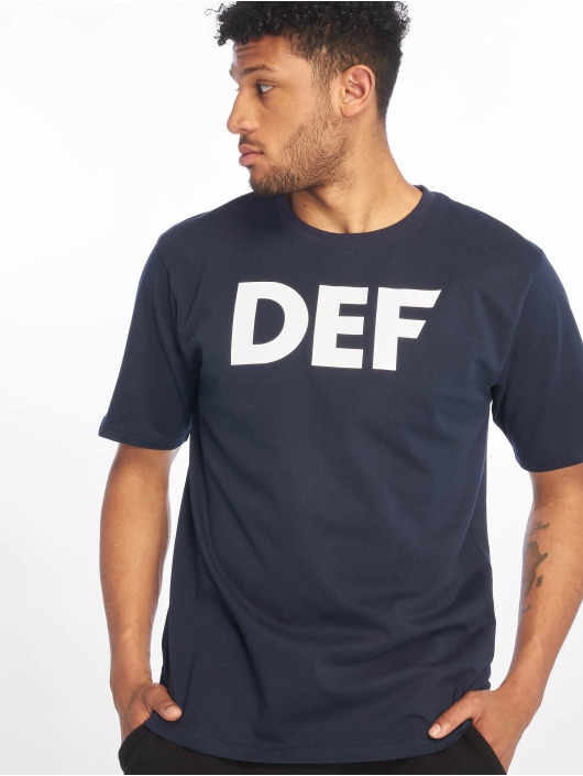 DEF T-Shirty Her Secret niebieski