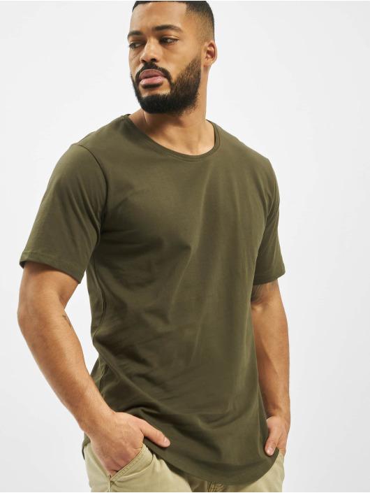 DEF T-Shirty Lenny oliwkowy