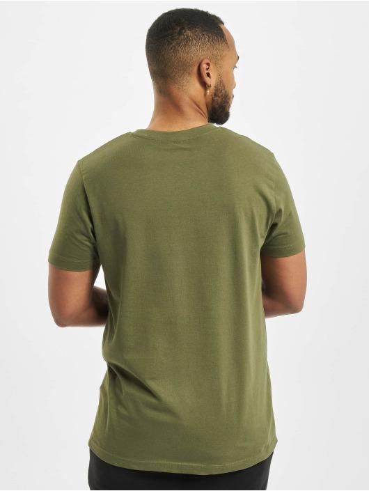 DEF T-Shirty Her Secret oliwkowy