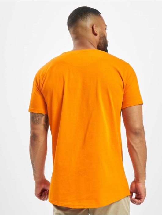 DEF T-Shirty Dedication pomaranczowy