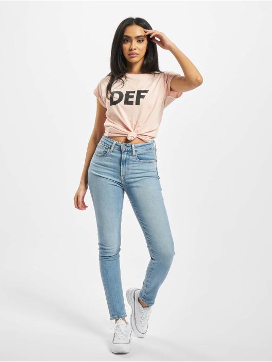 DEF T-Shirty Sizza rózowy