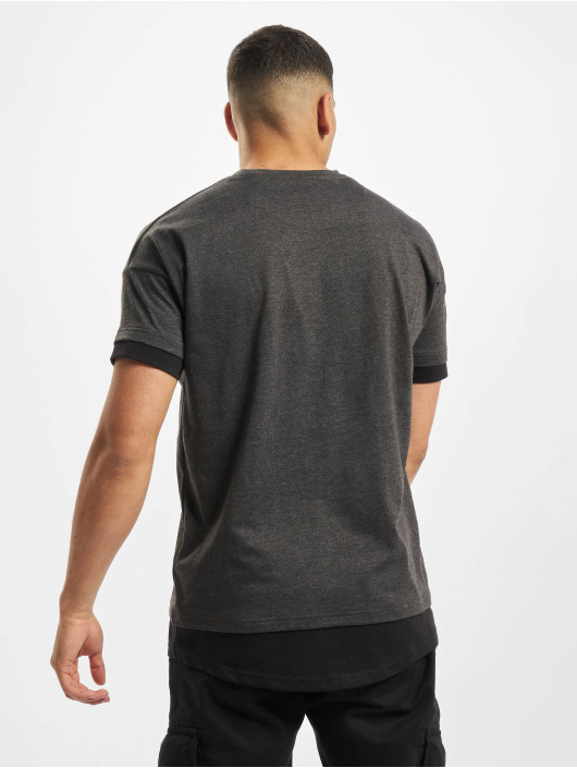 DEF T-Shirty Tyle szary