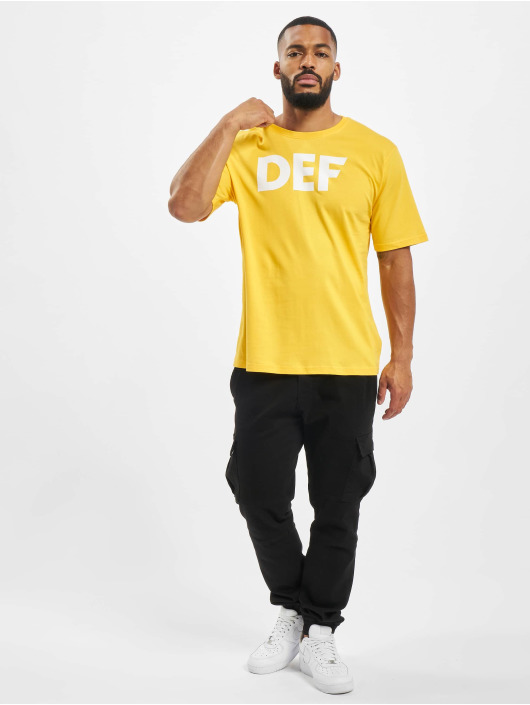 DEF T-Shirty Her zólty
