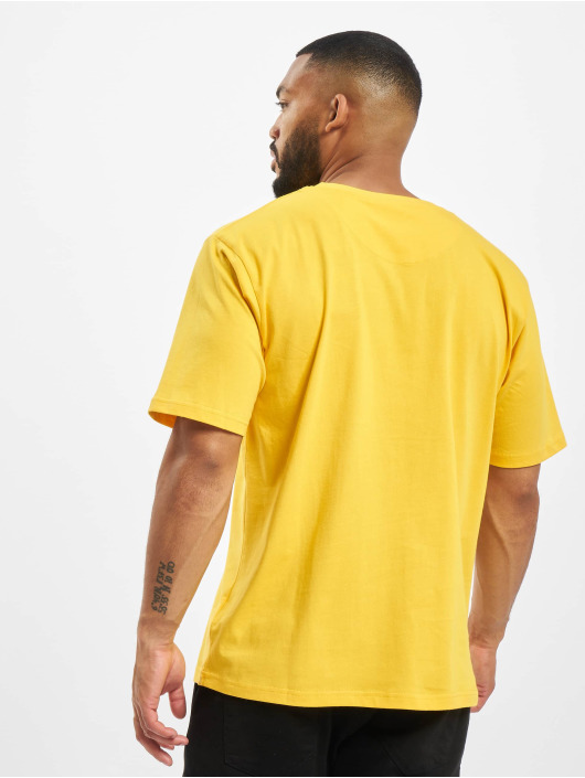 DEF T-skjorter Her gul
