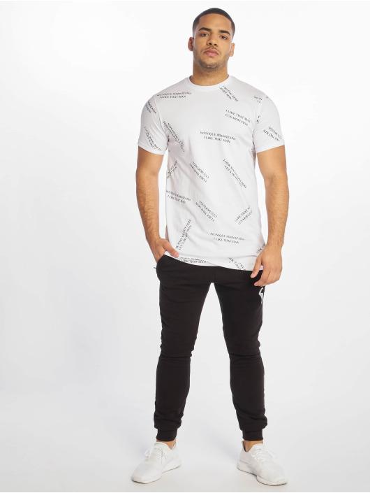 DEF T-skjorter beUNIQUE hvit