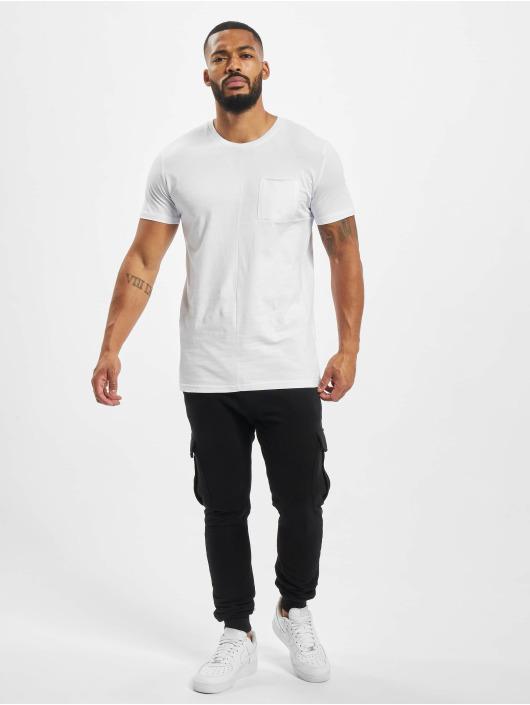 DEF T-skjorter Europa hvit