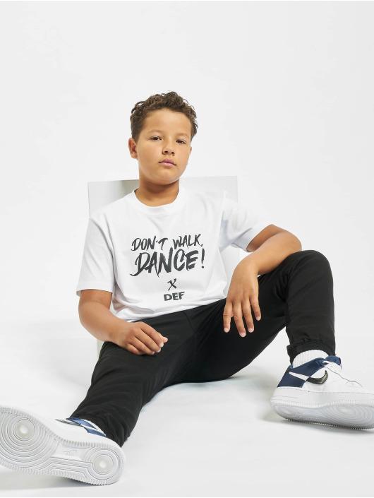 DEF T-skjorter Don't Walk Dance hvit