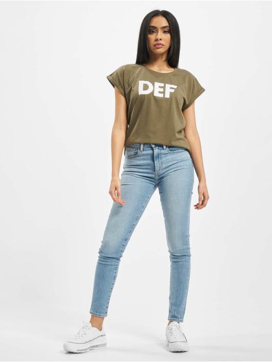 DEF T-skjorter Sizza oliven