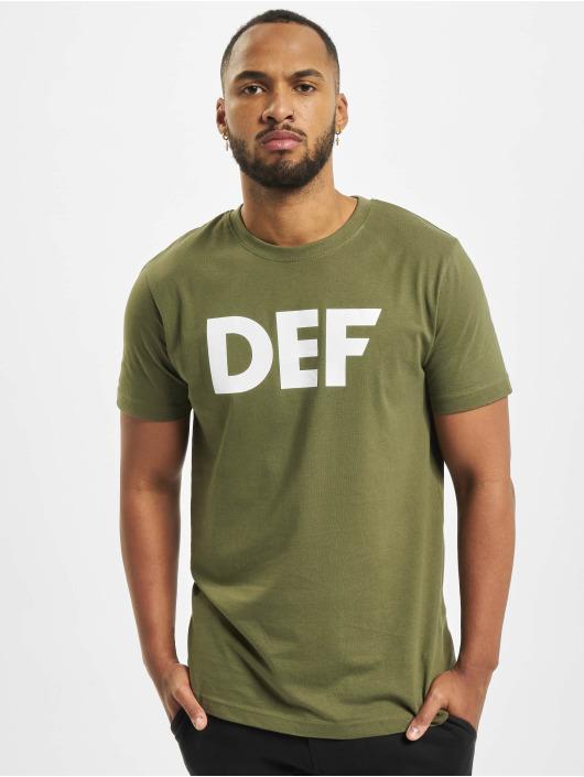 DEF T-skjorter Her Secret oliven