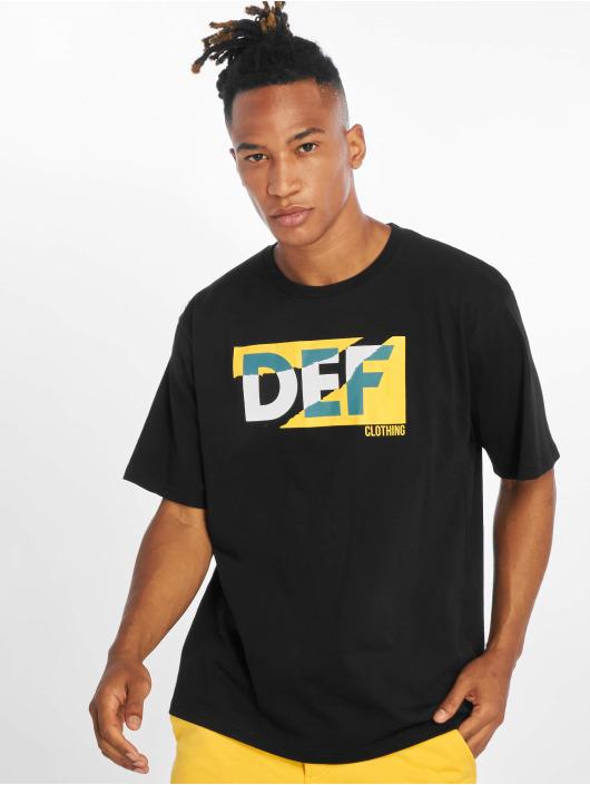 DEF T-skjorter Joey svart