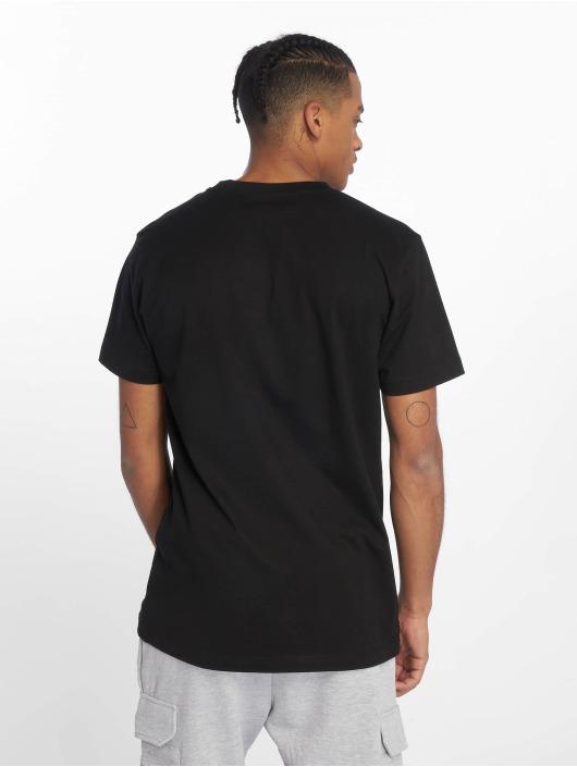 DEF T-skjorter Chevron svart