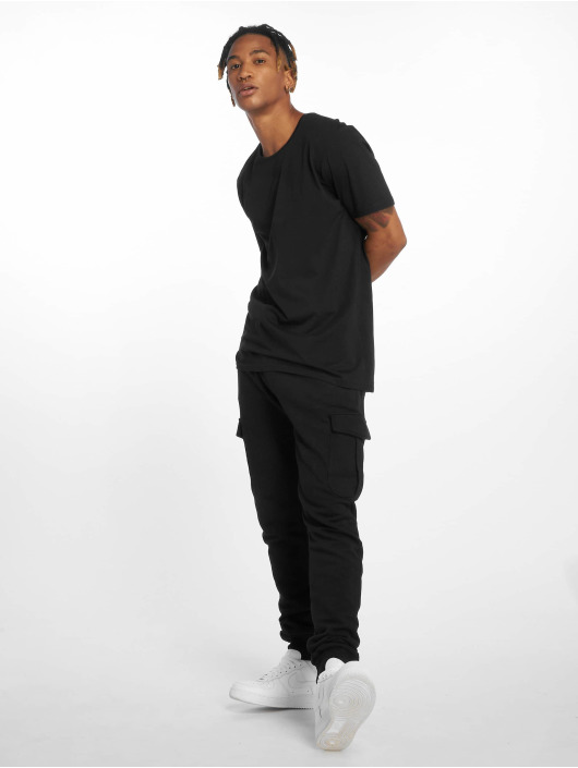 DEF T-skjorter Pike svart