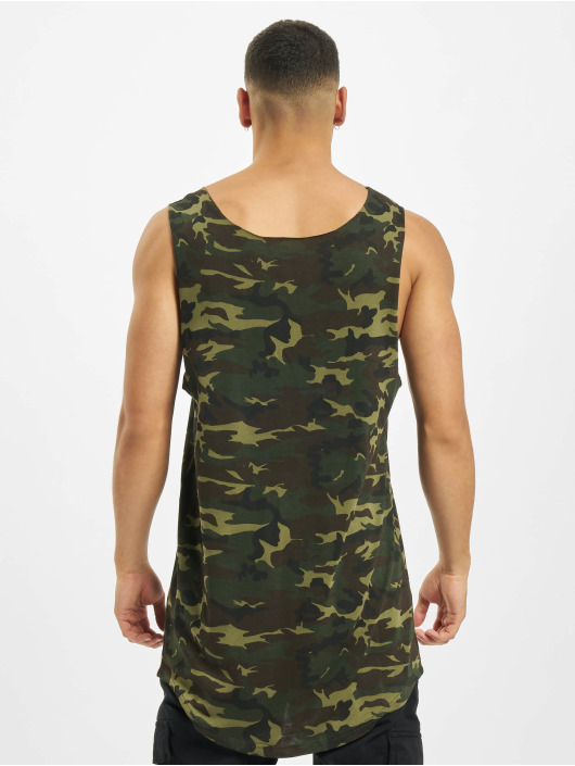 DEF Tank Tops Basic Long camouflage