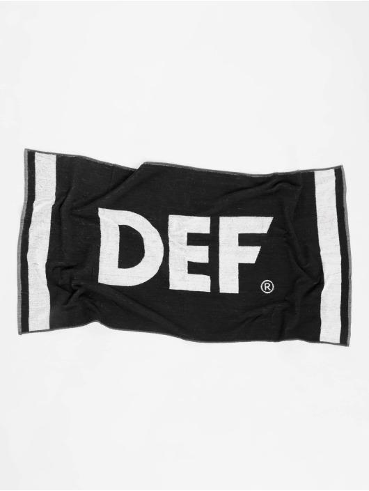 DEF Towel Logo black