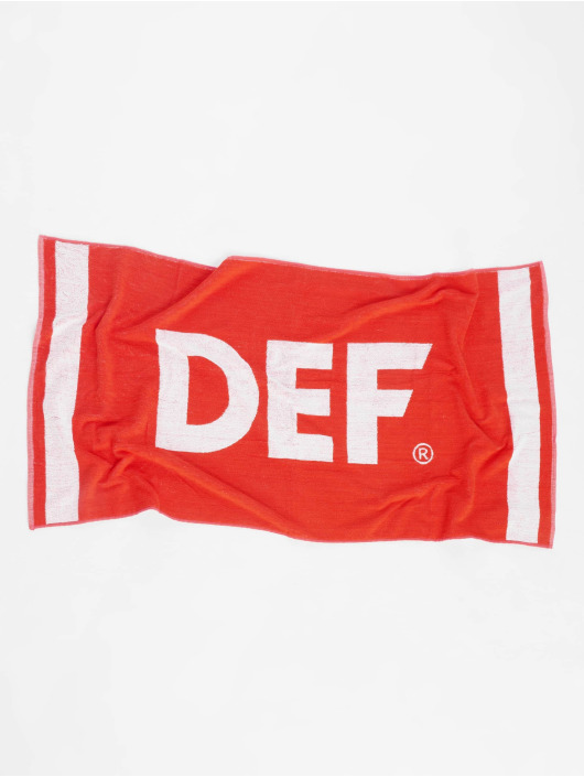DEF Towel Logo red