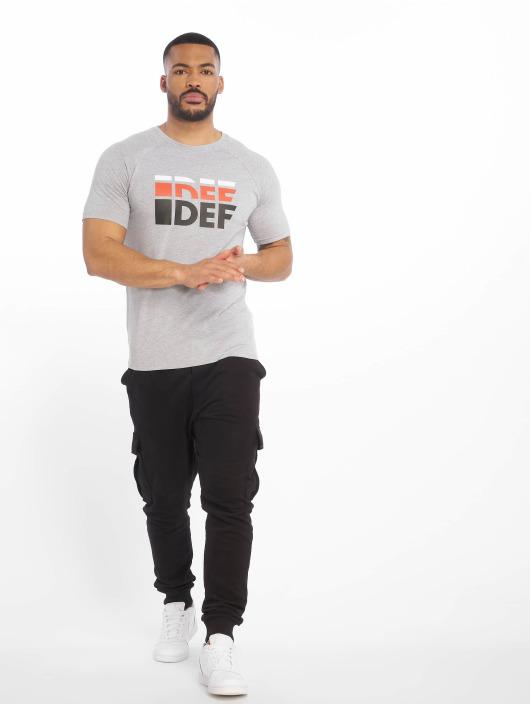 DEF Tričká Joey šedá