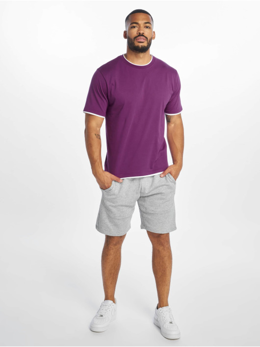 DEF Tričká Basic fialová