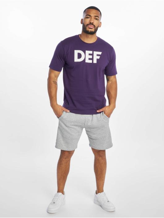 DEF Tričká Her Secret fialová
