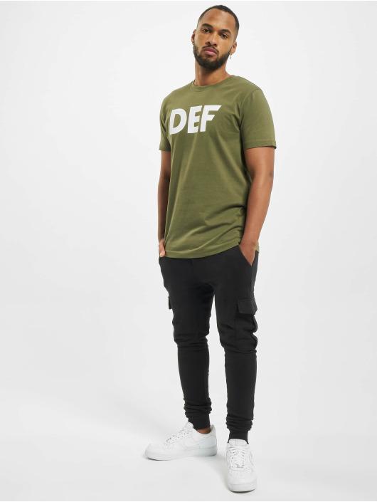 DEF Tričká Her Secret olivová