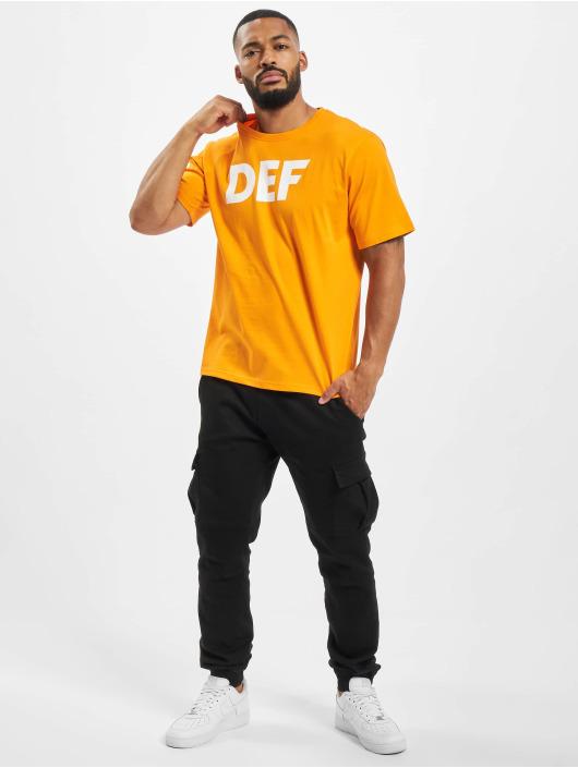 DEF Tričká Her Secret oranžová