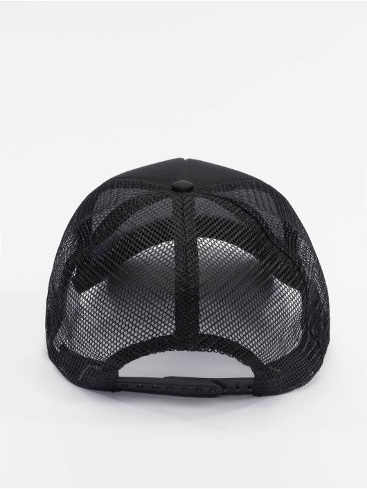 DEF trucker cap Logo zwart