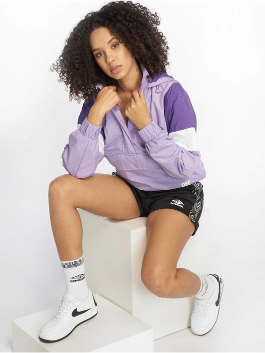 DEF Übergangsjacke Colourblock violet