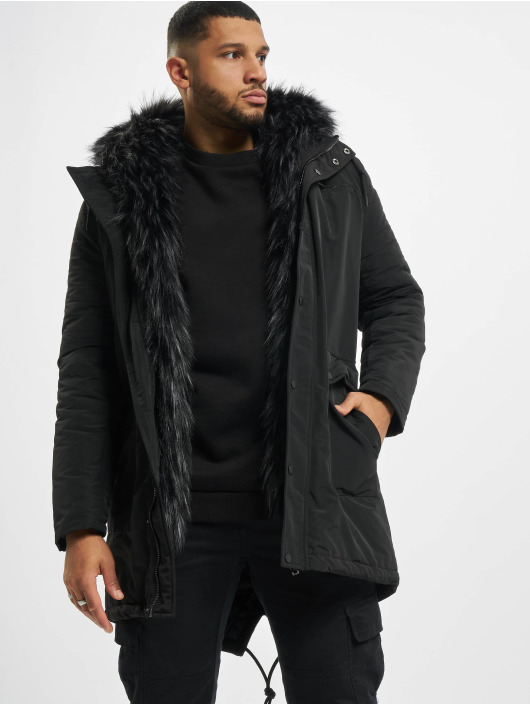 DEF Winter Jacket Rich black