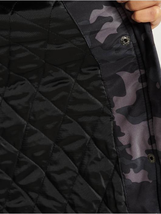 DEF Winter Jacket Pinka camouflage