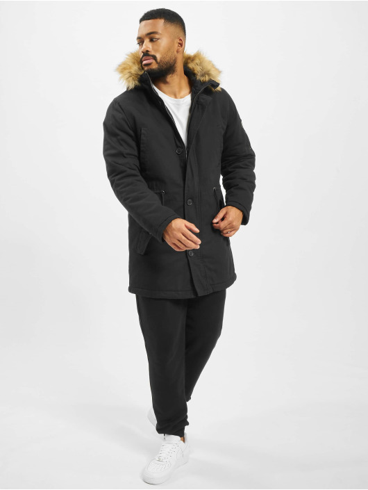 DEF Zimní bundy Steve čern