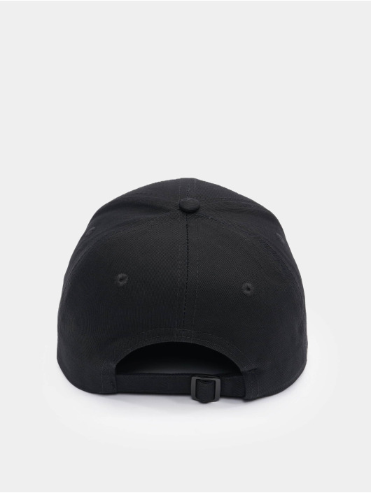 DefShop snapback cap Logo zwart