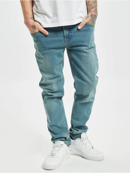 Denim Project Облегающие джинсы Mr. Green синий