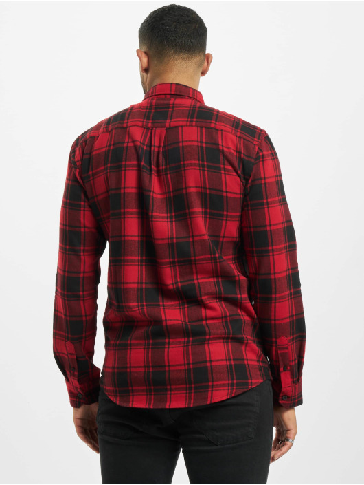 Denim Project Camisa Check rojo