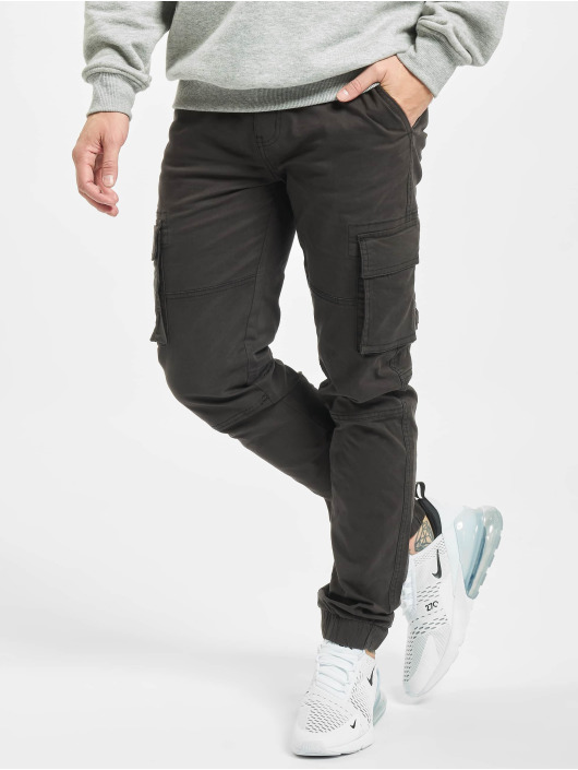 Denim Project Cargo pants Cargo svart