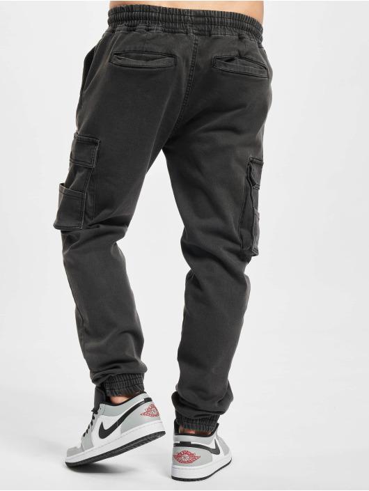 Denim Project Chino bukser Cargo grå
