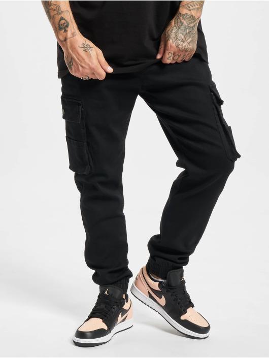 Denim Project Chino bukser Cargo svart