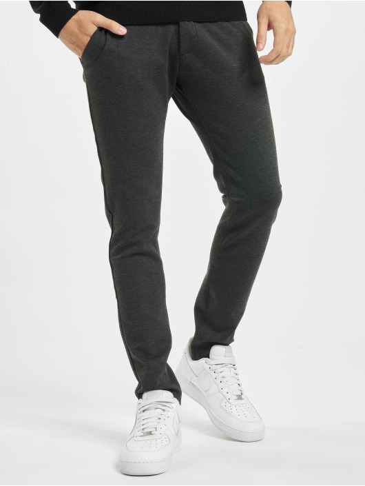 Denim Project Chino Ponte Roma Plain grau